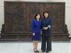 신경숙중국어학원설립원장, 중국대사관부산총영사관 방문
