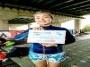 한국 대표 여성록커로 알려진 스토리셀러 보컬 빈나 한강을 헤엄쳐 자신만의 도전에 승리
