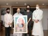 EDM 아티스트 배드보스 조계사에 자신의 팝아트 달마 기증 화제